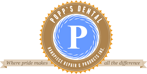 Popp's Dental Handpiece Repair and Products - Logo